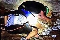 Kinh hoàng phát hiện 2 thi thể còn đội nón bảo hiểm tại cống nước dưới chân cầu nhưng không thấy xe đâu