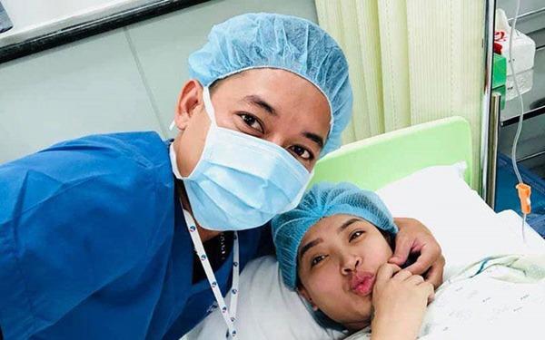 Sinh xong chồng vẫn quá cưng, mỹ nhân Việt khóc mếu vì bầu liên tục, vội vã khóa máy-6