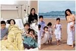 Sinh xong chồng vẫn quá 'cưng', mỹ nhân Việt khóc mếu vì bầu liên tục, vội vã 'khóa máy'