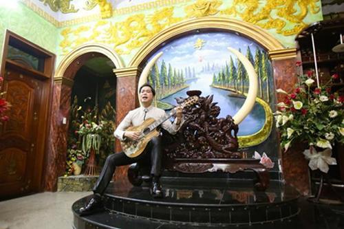 Cùng biệt phủ 100 tỷ, Đàm Vĩnh Hưng hoàng gia, sang nhà Ngọc Sơn nhìn rợn tóc gáy-4