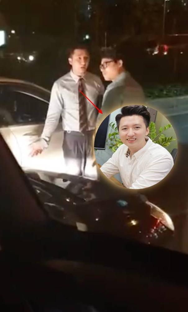 Xôn xao clip Trọng Hưng bị va chạm ngoài đường, trên xe chở một cô gái-2