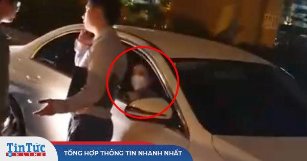 Xôn xao clip Trọng Hưng bị va chạm ngoài đường, trên xe chở một cô gái