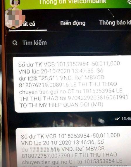 Vợ của nạn nhân tử vong ở thủy điện Rào Trăng bị kẻ gian lừa đảo 100 triệu đồng qua điện thoại: Em biết phải làm sao đây?-2