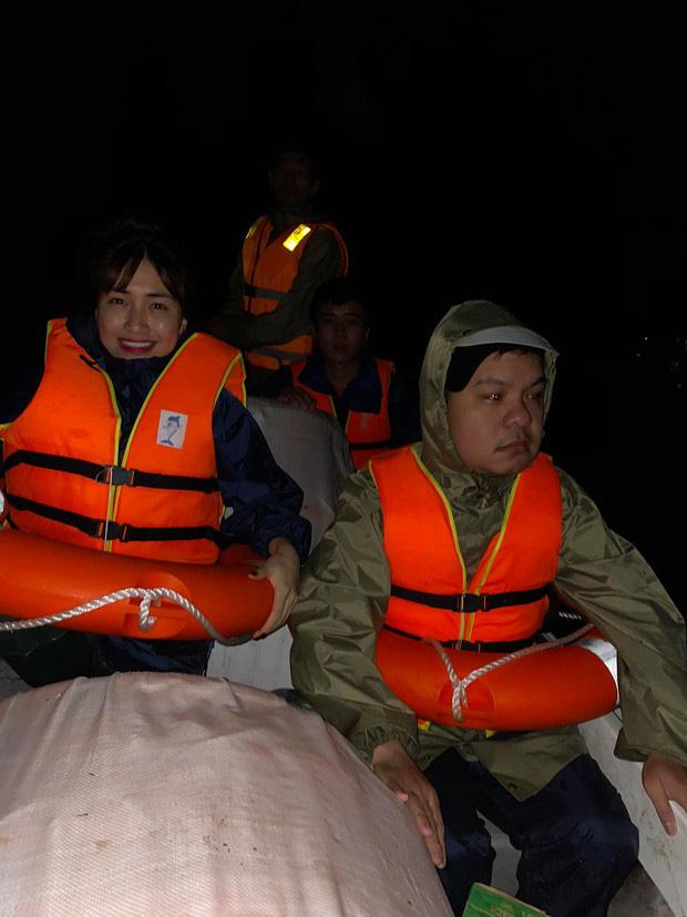 Hoà Minzy thức trắng 2 đêm liền để cứu trợ bà con, kiệt sức đến ngủ thiếp đi tại sân bay về Sài Gòn-3