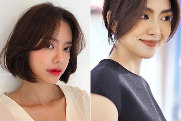 Taeyeon và Hà Tăng khởi xướng xu hướng tóc mái che mặt bánh bao