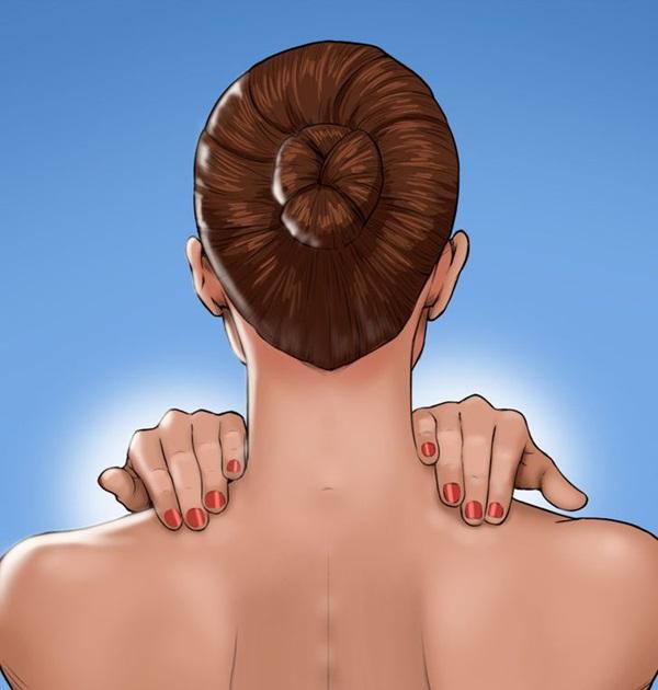 8 kỹ thuật xoa bóp để tránh đau đầu mà không cần dùng thuốc, chị em văn phòng ngồi lì 8 tiếng đừng nên bỏ qua-2