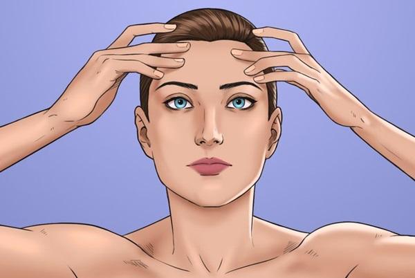 8 kỹ thuật xoa bóp để tránh đau đầu mà không cần dùng thuốc, chị em văn phòng ngồi lì 8 tiếng đừng nên bỏ qua-5