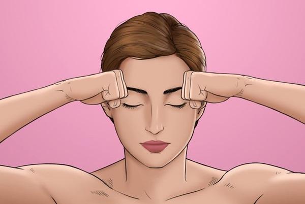 8 kỹ thuật xoa bóp để tránh đau đầu mà không cần dùng thuốc, chị em văn phòng ngồi lì 8 tiếng đừng nên bỏ qua-7