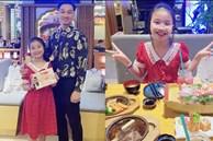 Có con gái đầu lòng như MC Thành Trung đúng là mát ruột, bé tý đã hiểu chuyện còn lo tiết kiệm tiền cho ba nuôi các em