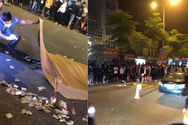 Nam thanh niên bốc đầu xe khiến người ngồi sau ngã văng xuống đường tử vong