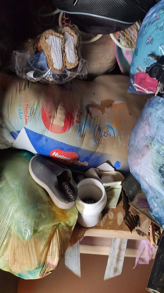 Khung cảnh nhà cửa tan hoang sau trận đại hồng thuỷ ở Quảng Bình: Tài sản bị ngâm nước nhầy nhụa bùn đất, thóc mọc mầm, vật nuôi chết hàng loạt-14
