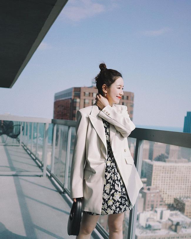 Chỉ với một kiểu blazer, nàng fashionista đã mix được cả chục set đồ xịn đẹp, thấy mà chẳng muốn shopping nhiều cho phí tiền-1