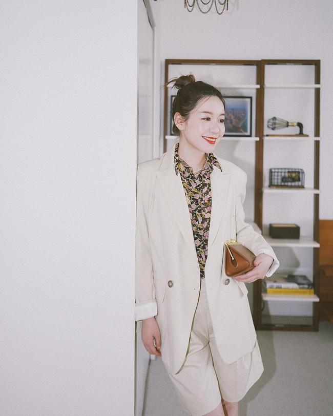 Chỉ với một kiểu blazer, nàng fashionista đã mix được cả chục set đồ xịn đẹp, thấy mà chẳng muốn shopping nhiều cho phí tiền-2