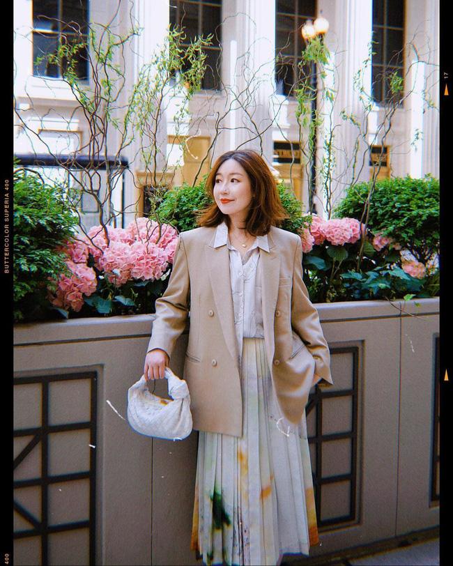 Chỉ với một kiểu blazer, nàng fashionista đã mix được cả chục set đồ xịn đẹp, thấy mà chẳng muốn shopping nhiều cho phí tiền-3