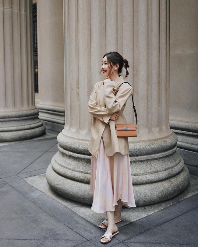 Chỉ với một kiểu blazer, nàng fashionista đã mix được cả chục set đồ xịn đẹp, thấy mà chẳng muốn shopping nhiều cho phí tiền-5