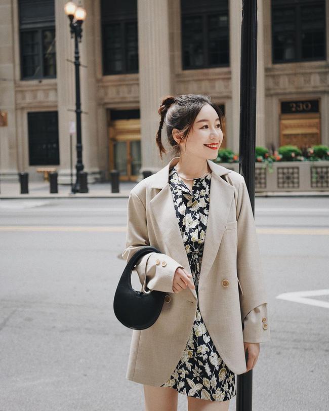 Chỉ với một kiểu blazer, nàng fashionista đã mix được cả chục set đồ xịn đẹp, thấy mà chẳng muốn shopping nhiều cho phí tiền-6