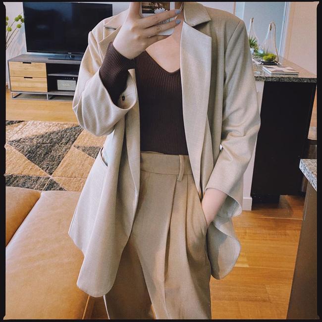 Chỉ với một kiểu blazer, nàng fashionista đã mix được cả chục set đồ xịn đẹp, thấy mà chẳng muốn shopping nhiều cho phí tiền-9