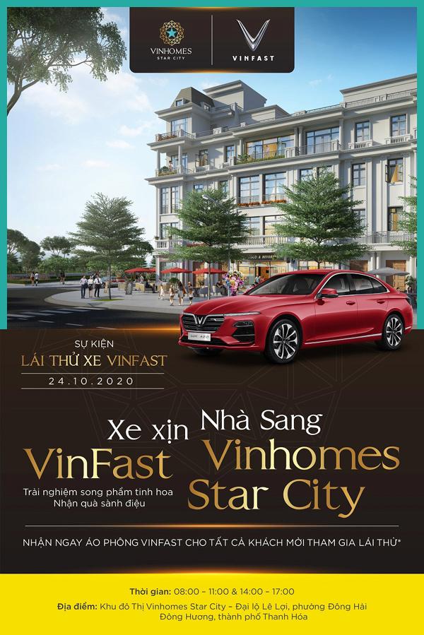 Cơ hội lướt xe xịn, dạo phố sang ở Vinhomes Star City Thanh Hóa-1