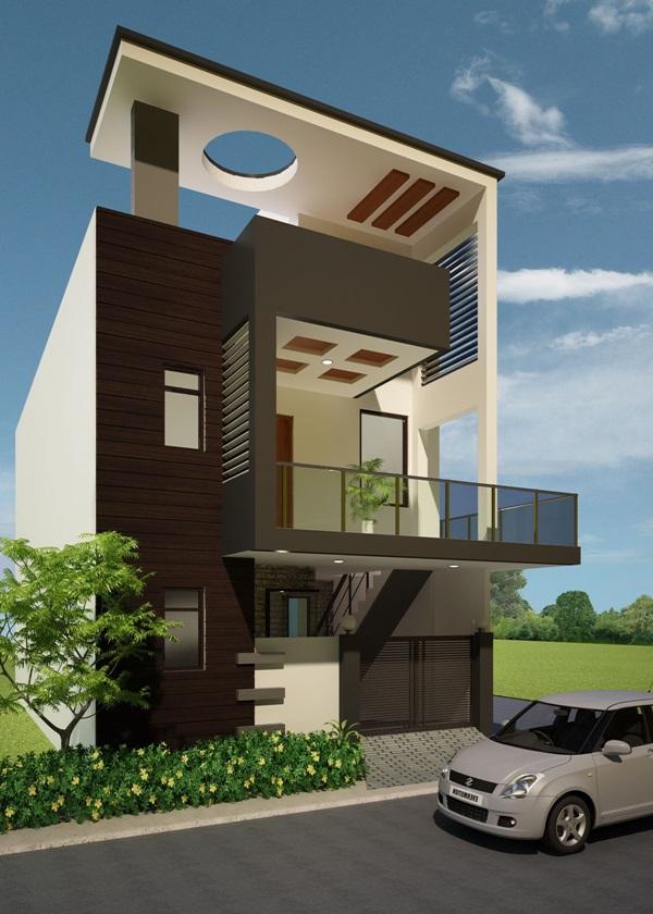 Những mẫu nhà phố đẹp như mơ, ai ngắm cũng phải trầm trồ vì thiết kế cực độc đáo và hiện đại-1