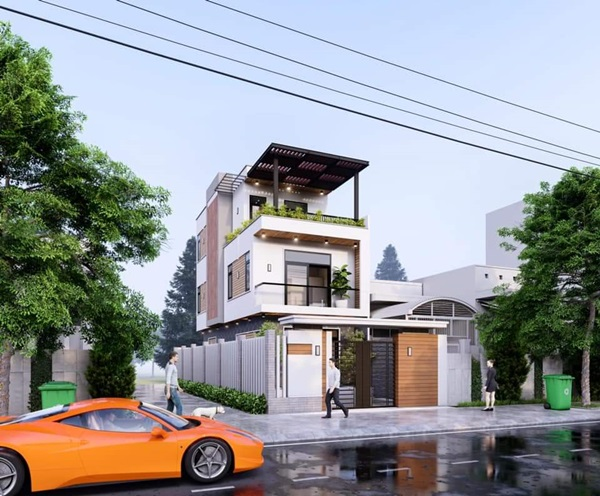 Những mẫu nhà phố đẹp như mơ, ai ngắm cũng phải trầm trồ vì thiết kế cực độc đáo và hiện đại-11