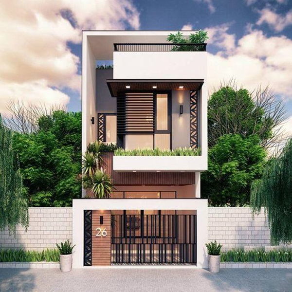 Những mẫu nhà phố đẹp như mơ, ai ngắm cũng phải trầm trồ vì thiết kế cực độc đáo và hiện đại-12