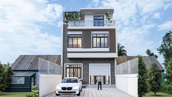 Những mẫu nhà phố đẹp như mơ, ai ngắm cũng phải trầm trồ vì thiết kế cực độc đáo và hiện đại-13