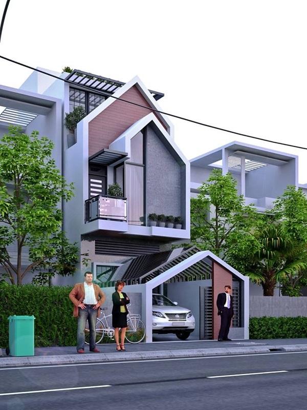 Những mẫu nhà phố đẹp như mơ, ai ngắm cũng phải trầm trồ vì thiết kế cực độc đáo và hiện đại-14