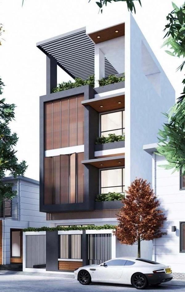 Những mẫu nhà phố đẹp như mơ, ai ngắm cũng phải trầm trồ vì thiết kế cực độc đáo và hiện đại-15