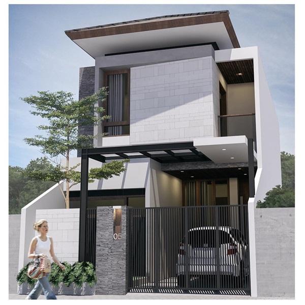 Những mẫu nhà phố đẹp như mơ, ai ngắm cũng phải trầm trồ vì thiết kế cực độc đáo và hiện đại-3