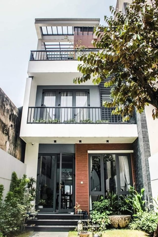 Những mẫu nhà phố đẹp như mơ, ai ngắm cũng phải trầm trồ vì thiết kế cực độc đáo và hiện đại-5