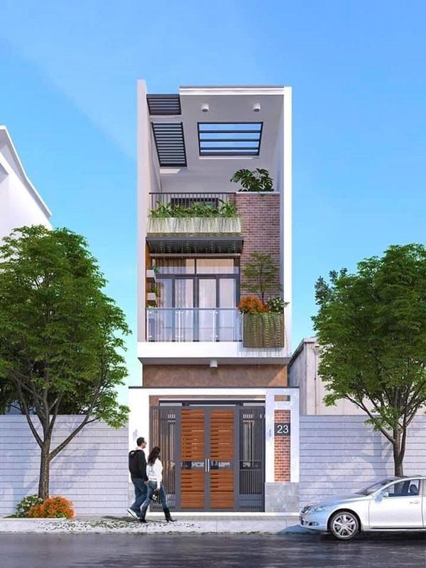 Những mẫu nhà phố đẹp như mơ, ai ngắm cũng phải trầm trồ vì thiết kế cực độc đáo và hiện đại-6