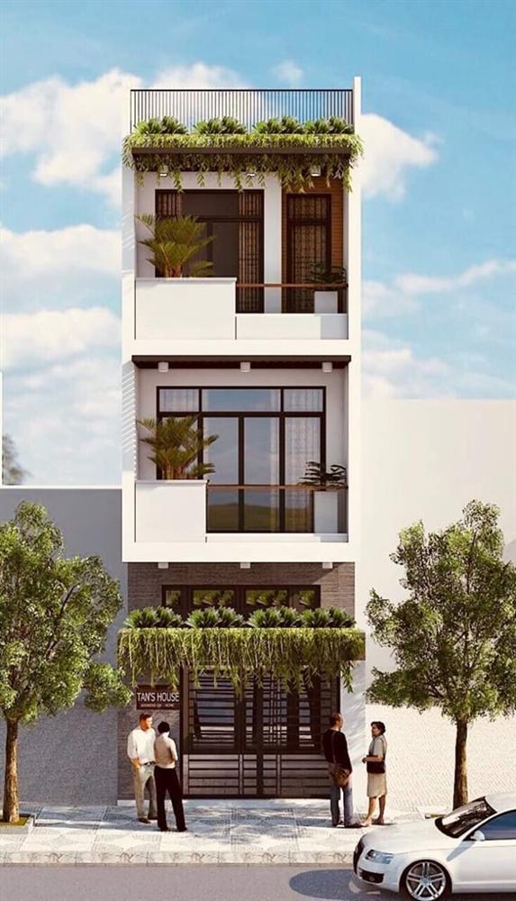Những mẫu nhà phố đẹp như mơ, ai ngắm cũng phải trầm trồ vì thiết kế cực độc đáo và hiện đại-9
