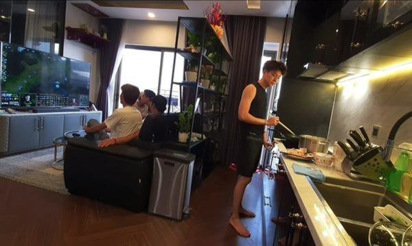 Ngắm căn hộ của Ngô Kiến Huy ai cũng thích thú vì view đẹp long lanh-3