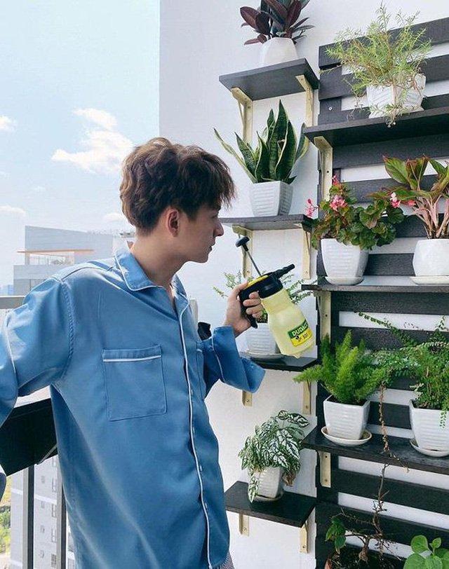 Ngắm căn hộ của Ngô Kiến Huy ai cũng thích thú vì view đẹp long lanh-7