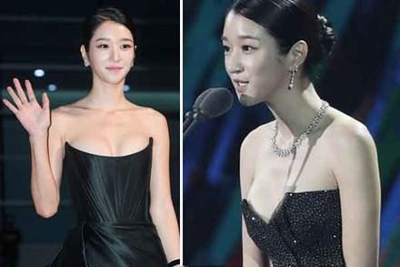 Nghẹt thở vì vòng 1 căng tràn của Seo Ye Ji: Diện đồ hở sexy