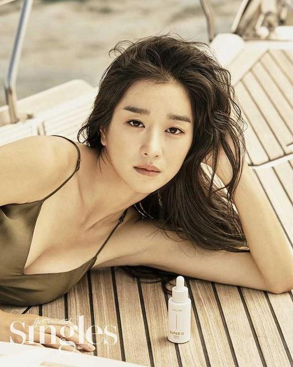 Nghẹt thở vì vòng 1 căng tràn của Seo Ye Ji: Diện đồ hở sexy bức thở, mặc đồ kín vẫn nóng bỏng bức người-12