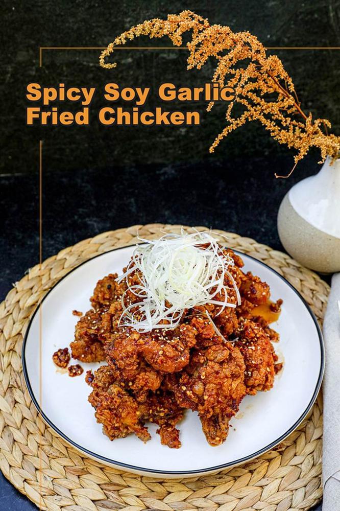 Cần gì ra tiệm, ở nhà tự làm gà chiên kiểu Hàn còn ngon hơn vạn lần mà lại dễ dàng vô đối!-9