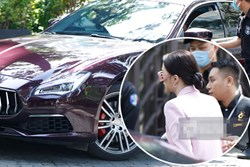 Hương Giang lái siêu xe Matt Liu tặng đến workshop Hoa hậu Chuyển giới Việt Nam, giật trọn spotlight với khí chất sang chảnh