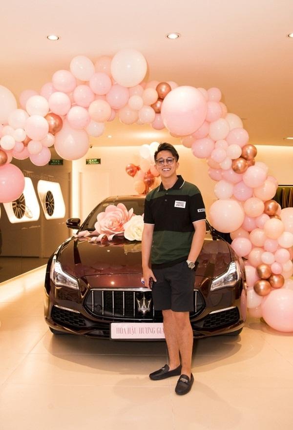 Hương Giang lái siêu xe Matt Liu tặng đến workshop Hoa hậu Chuyển giới Việt Nam, giật trọn spotlight với khí chất sang chảnh-6