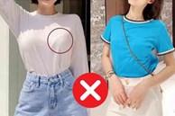 4 kiểu áo phông cực kỳ 'kém sang' mà bạn đừng dại rinh về cho chật nhà