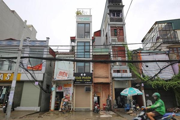 Kỳ lạ những căn nhà siêu nhỏ chỉ vừa một người đi nhưng giá hơn 400 triệu/m2 ở Hà Nội-2