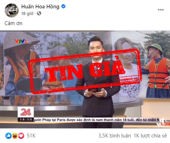 VTV khẳng định clip Huấn Hoa Hồng trao quà từ thiện là cắt ghép-1