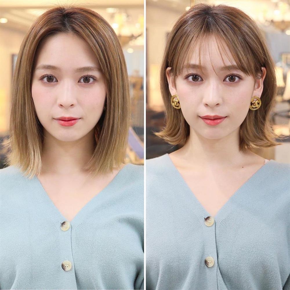 Kiểu tóc mái dành cho những nàng có lông mày thưa thớt, ngắn một mẩu-4