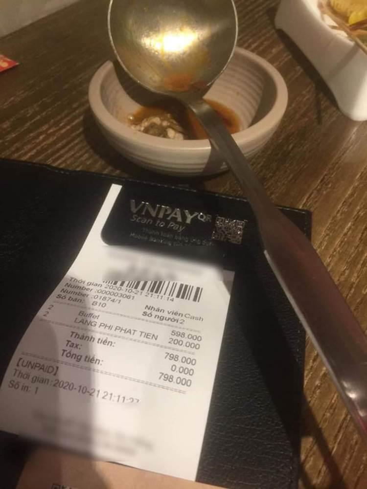 Nhà hàng buffet ở Đà Nẵng bị dân mạng tấn công sau loạt lùm xùm phạt khách 200k vì để thừa 2.9 lạng rau-2