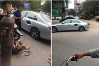 Xe chở bình oxi đâm thủng Mercedes trên phố Hà Nội, hình ảnh hiện trường khiến tất cả kinh hãi