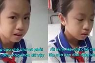 Thấy bạn lớp khác bị thầy giáo đánh đòn, bé gái khóc nức nở với mẹ: 'Người ta bị làm sao lấy tiền đâu chữa trị', tuy nhiên câu chốt mới bá đạo