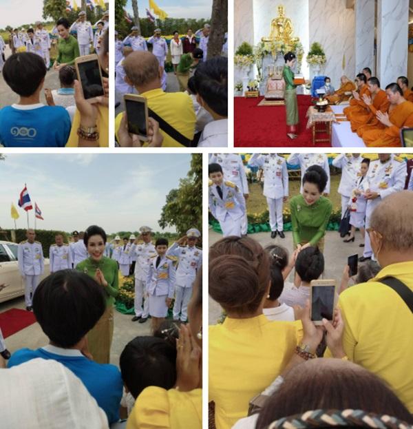 Hoàng quý phi Thái Lan gây sốt cộng đồng mạng nhờ một chi tiết thể hiện sự duyên dáng, phong thái đầy chuẩn mực hiếm ai có được-3