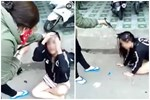 Màn đánh ghen náo loạn phố xá: 'Tiểu tam' thê thảm quỳ lạy xin tha nhưng hành động của cô vợ lại bị MXH lên án