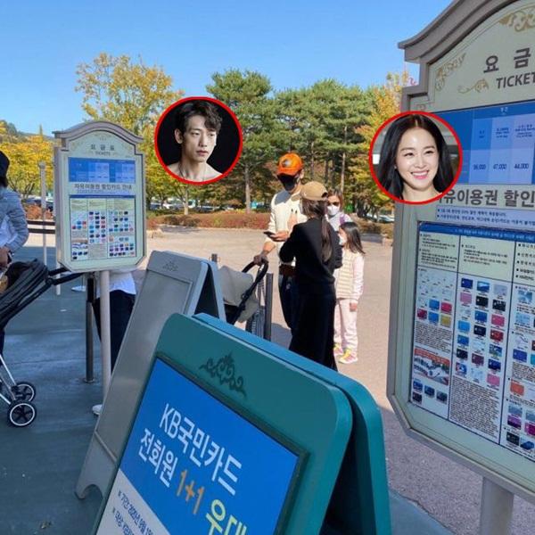 Cận cảnh khoảnh khắc vợ chồng Bi Rain đưa con gái đi chơi, ngoại hình sau hai lần sinh nở của Kim Tae Hee gây chú ý-3
