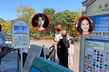 Cận cảnh khoảnh khắc vợ chồng Bi Rain đưa con gái đi chơi, ngoại hình sau hai lần sinh nở của Kim Tae Hee gây chú ý
